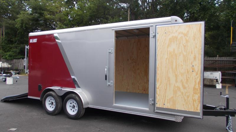 "2020 Car Mate 7 X 16 Cargo Trailer W/ 6"" Add Height  2022432"