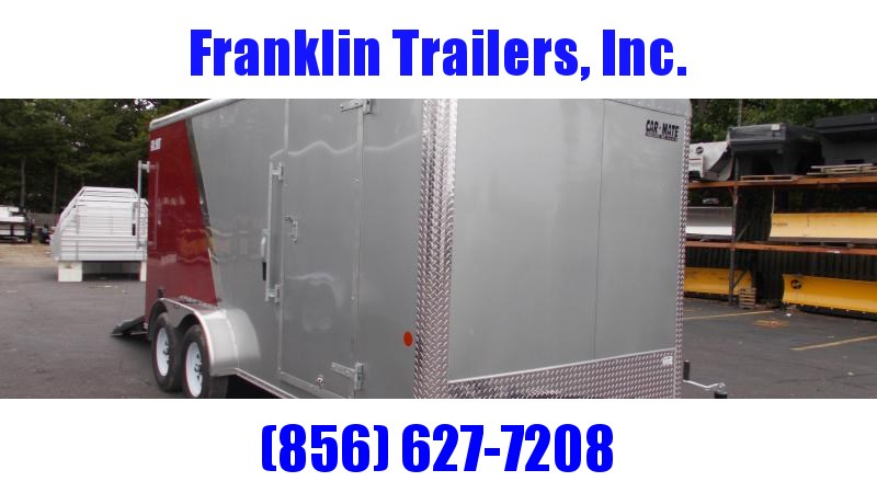 "2020 Car Mate 7 X 16 Cargo Trailer W/ 6"" Add Height  2022432"
