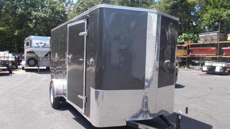 2020 Carry-On 6X14 Bull Nose Enclosed Cargo Trailer 2022469
