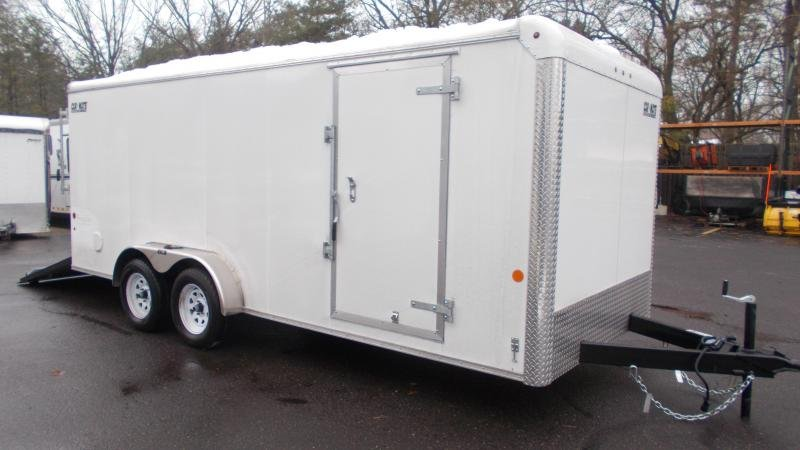 2021 Car Mate 7x18 Enclosed Cargo Trailer 2023381