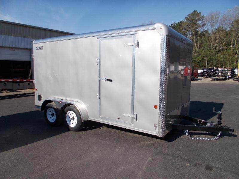 "2021 Car Mate 7x14 7K Enclosed Cargo Trailer With 6"" Addt'l Height 2024062"