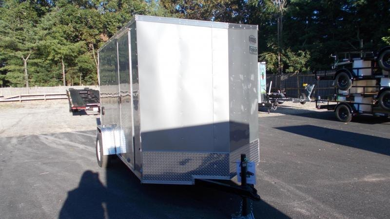 "2021 Cargo Express 6 X 12 Enclosed Cargo Trailer w/ 6"" Additional Height 2022888"