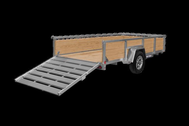 2021 Sure-Trac 7X14 High Side Aluminum Utility Trailer 2023226