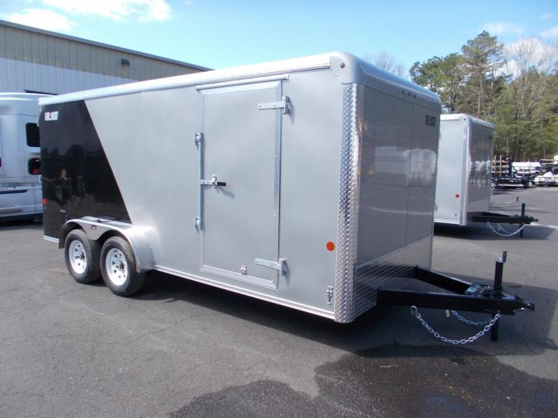 2021 Car Mate 7x16 7K Two Tone Enclosed Cargo Trailer 2024024