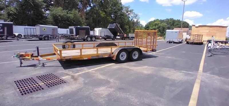 2012 Sure-Trac 7x18 7K Utility Trailer 2024327