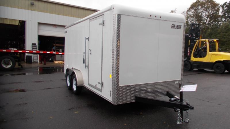 "2021 Car Mate 7x16 Enclosed Cargo Trailer WITH 6"" Addit'l Height 2023017"