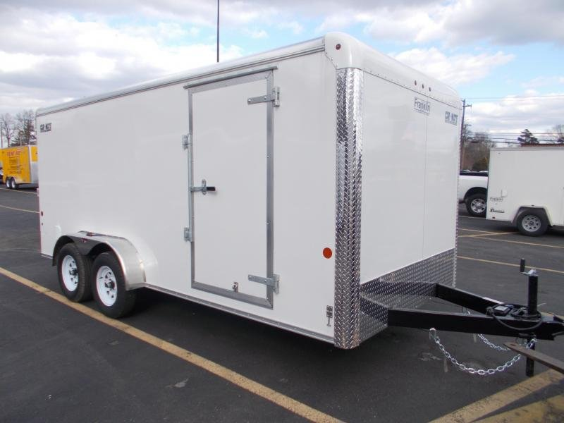 2021 Car Mate 7x16 Enclosed Cargo Trailer 2023669