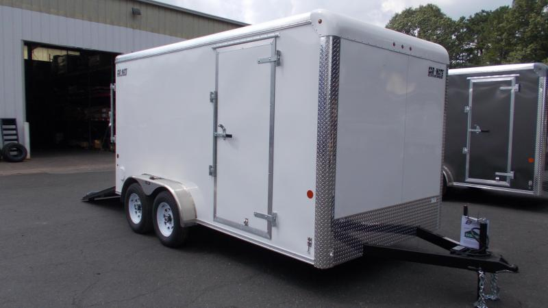 "2021 Car Mate Trailers E714CM1T-6 Enclosed Cargo Trailer W/ 6"" Additional Height 2022672"