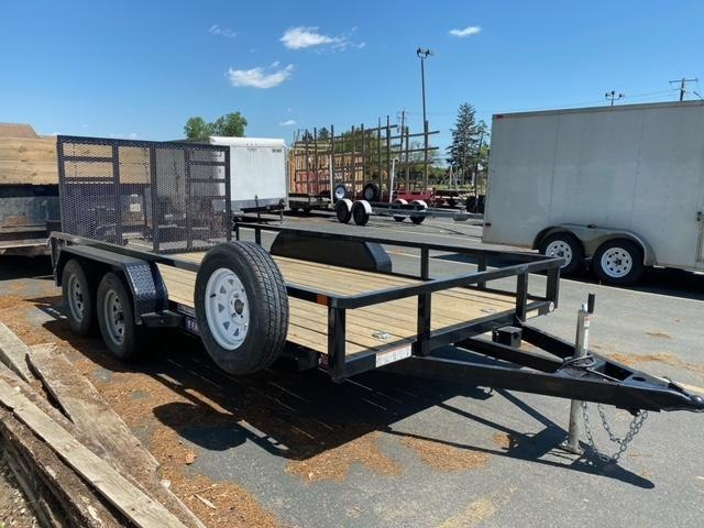 2021 Sure-Trac ST8214TAT-B-070 Utility Trailer