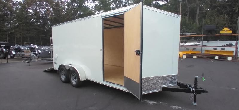 """2022 Cargo Express 7x16 V-Nose Enclosed Cargo Trailer with 6"""" Addt'l Height 2024799"""