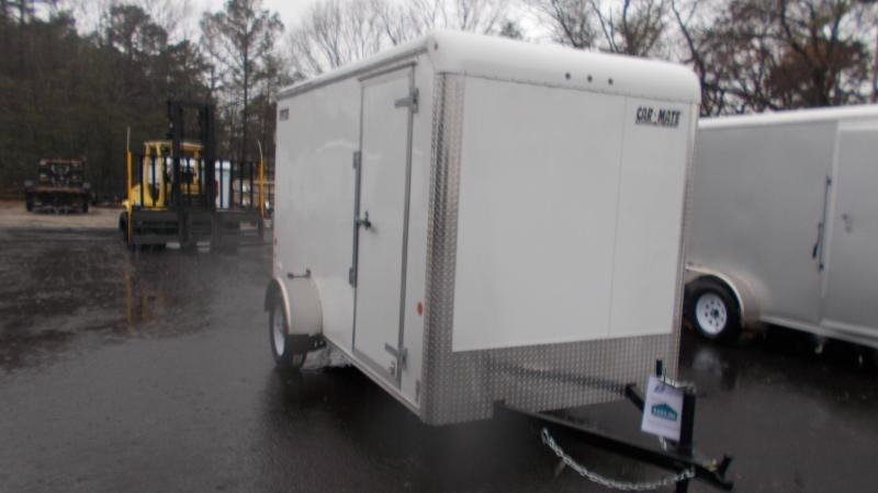 2021 Car Mate Trailers 6x12 Enclosed Cargo Trailer 2023291