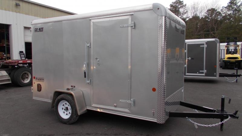 "2021 Car Mate 6x12 Enclosed Cargo Trailer with Addt'l 6"" Height 2023388"