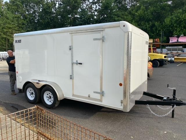 2021 Car Mate 7x14 7K Enclosed Cargo Trailer 2024571