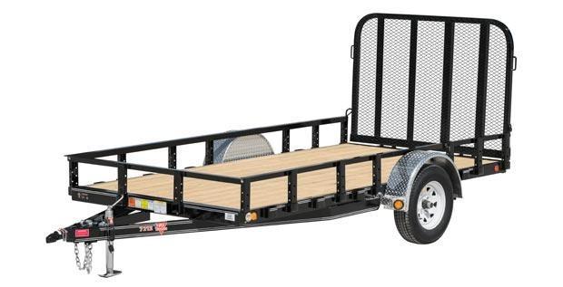 2022 PJ Trailers 6x12 Single Axle Channel (U2) Utility Trailer 2024905