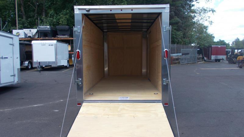 2021 Carry-On 6X14 Bull Nose Enclosed Cargo Trailer 2023194