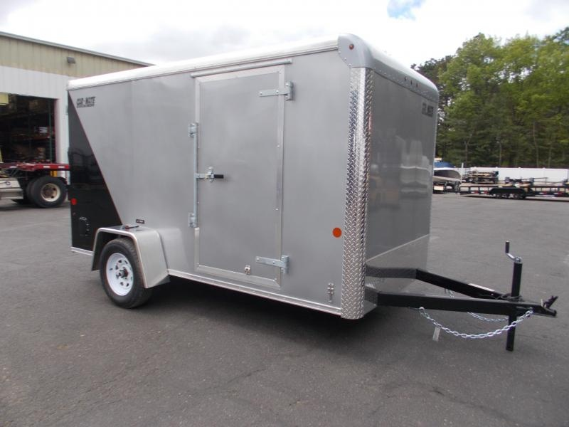 2021 Car Mate 6x12 Enclosed Cargo Trailer 2024218