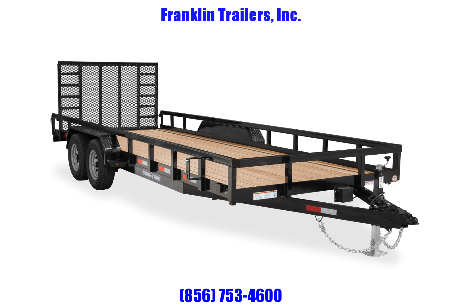 2021 Sure-Trac 7 x 18 Tube Top Utility Trailer  10K T/A 2022631