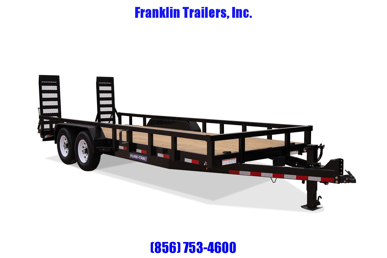 2020 Sure-Trac 7 x 18 Equipment Trailer  14K 2022452