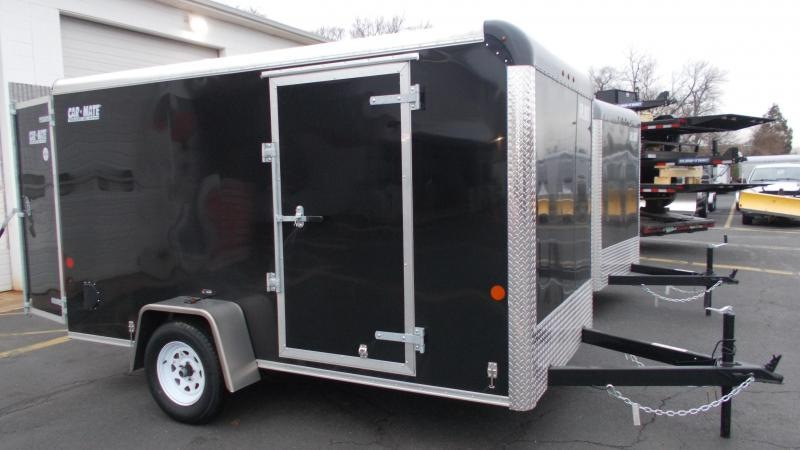 2021 Car Mate 6x12 Enclosed Cargo Trailer 2023401