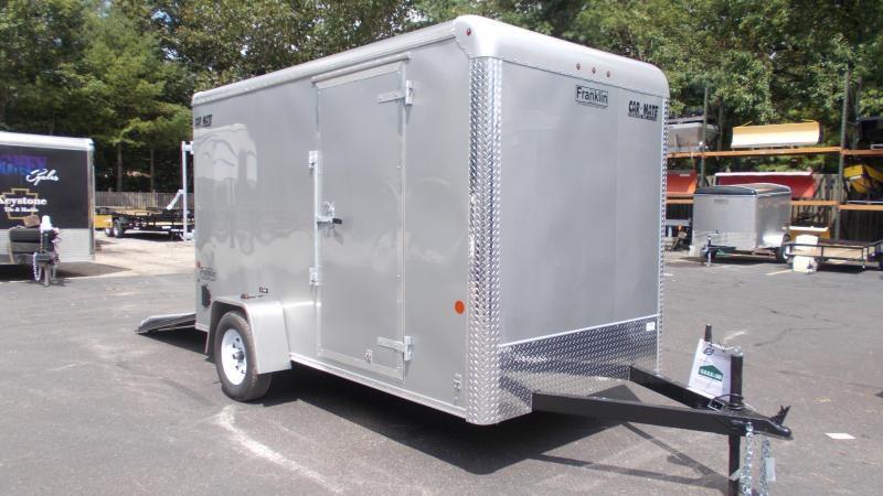 """2020 Car Mate 6 x 12 Cargo Trailer w/ 6"""" ADD HGHT 2022669"""