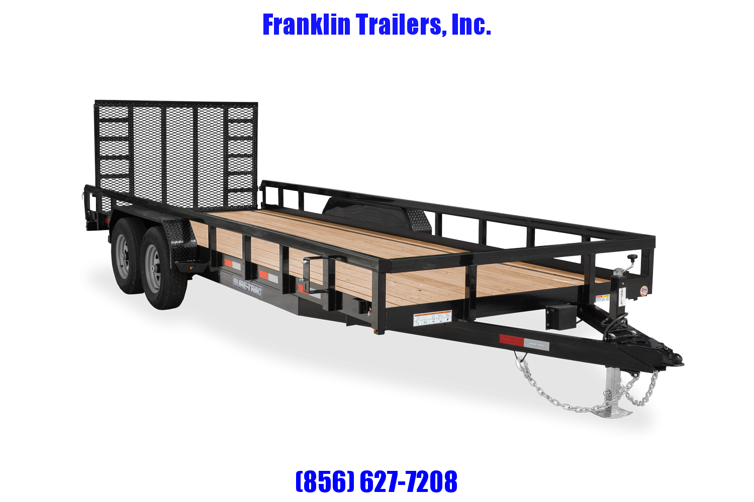 2021 Sure-Trac 7 x 20 Tube Top Utility Trailer  10K Tan 2022590