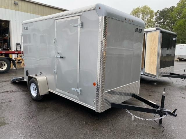 "2021 Car Mate 6x12 Enclosed Cargo Trailer With 6"" Addt'l Height 2024173"