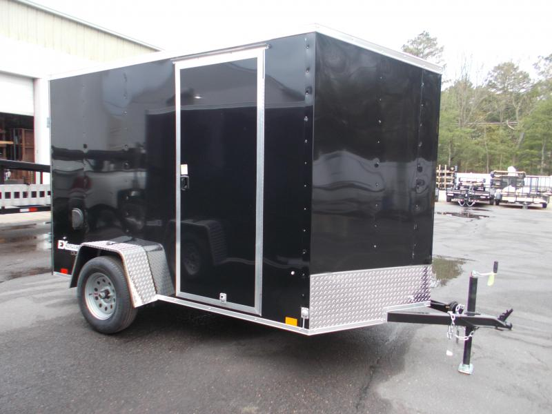 "2021 Cargo Express 6x10 Enclosed Cargo Trailer With 6"" Addt'l Height 2024048"