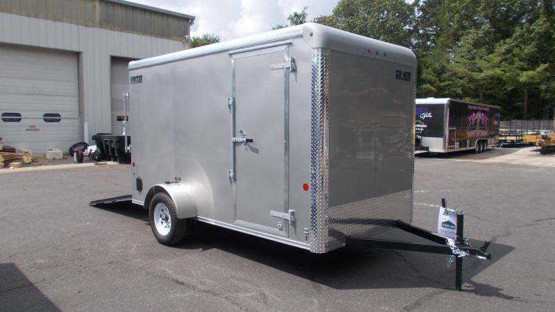 "2020 Car Mate 6 x 12 Cargo Economy Trailer w/ 6"" ADD HGHT 2022670"