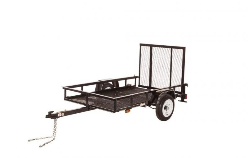 2021 Carry-On 4x7 Scratch and Dent Utility Trailer 2023157