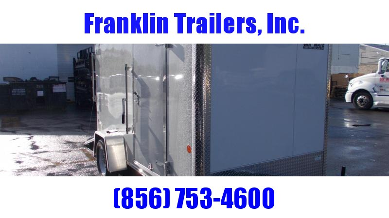 2020 Car Mate 6X12 Enclosed Cargo Trailer 2022230