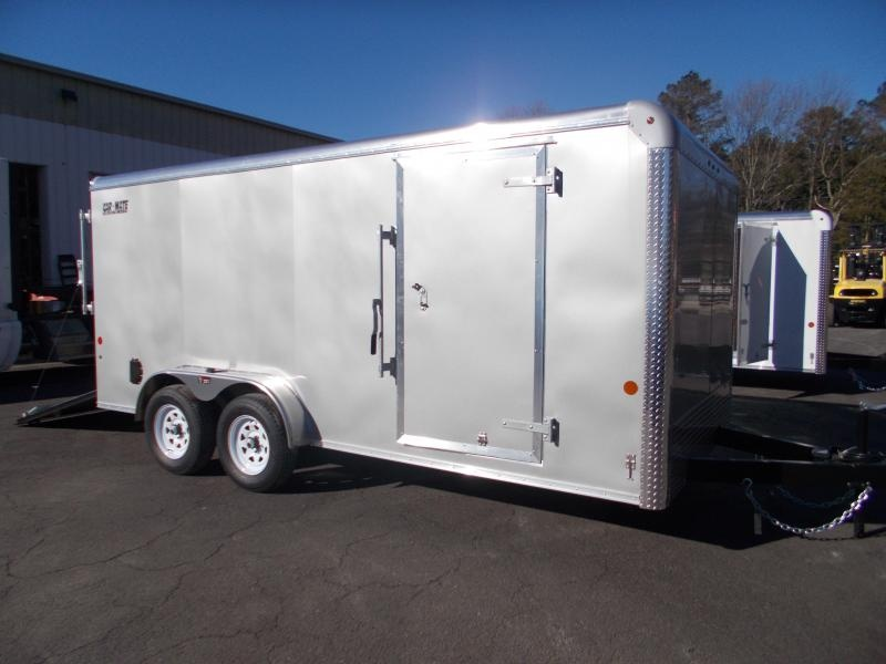 2021 Car Mate 7x16 Enclosed Cargo Trailer 2023667