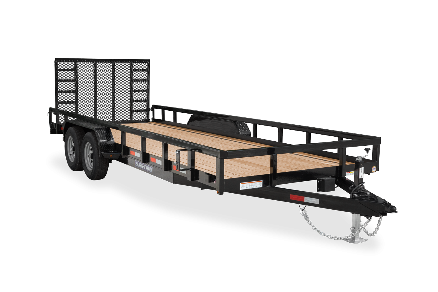 2021 Sure-Trac 7 x 20 Tube Top Utility Trailer  10K 2022821