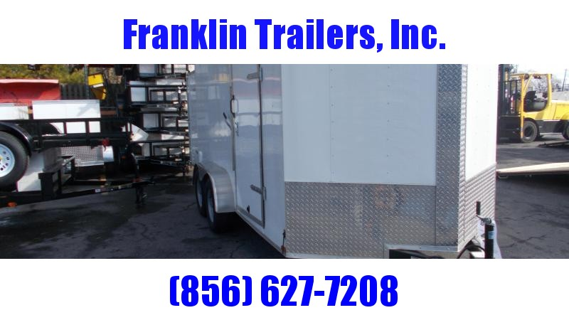 2020 Lark E714LU3TV Enclosed Cargo Trailer 2021966