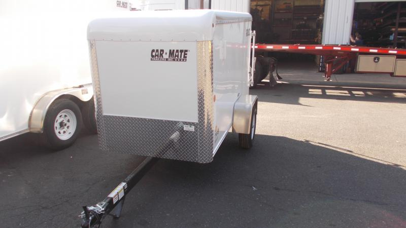 2021 Car Mate Trailers 4 X 8 Lite Duty Custom Enclosed Cargo Trailer 2022896