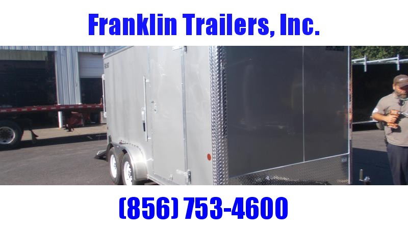 """2021 Car Mate Trailers E714CM1T-6 Enclosed Cargo Trailer W/ 6"""" Additional Height"""