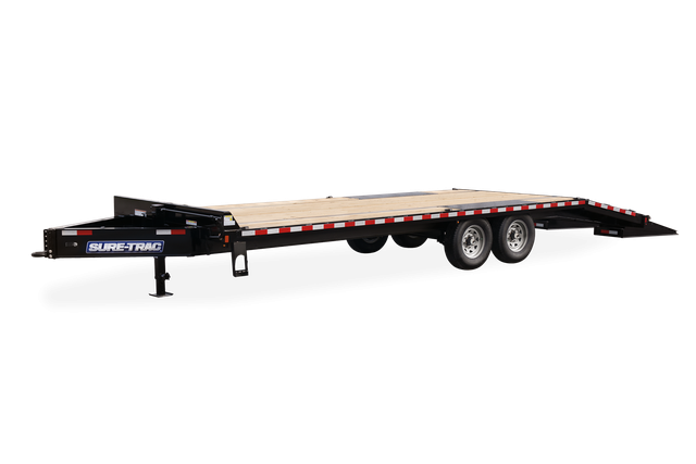 2021 Sure-Trac 8.5' x 25' Deckover Equipment Trailer 17.6K 2024209