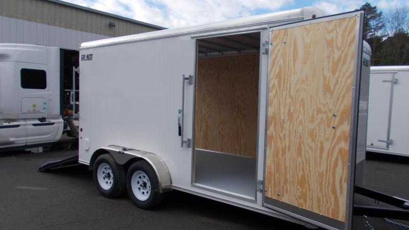 "2021 Car Mate Trailers 7x14 Enclosed Cargo Trailer with 6"" Addt'l Height 2023217"