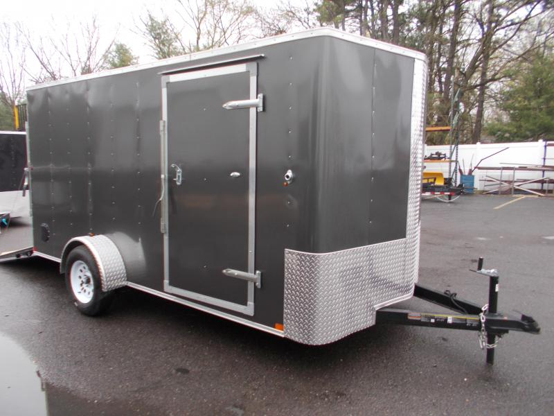 2021 Carry On 7x14 Bull Nose Cargo / Enclosed Trailer 2024018