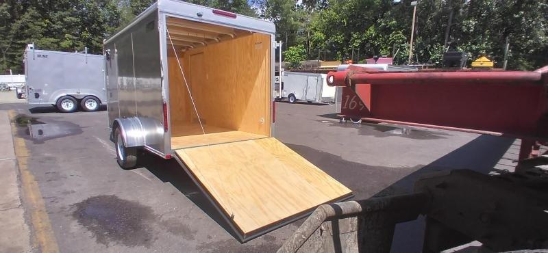 2021 Car Mate 6x12 Enclosed Cargo Trailer 2024362