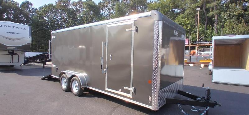 2021 Car Mate 7x18 Enclosed Cargo Trailer 2024727