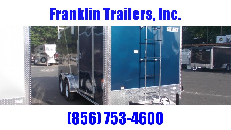 2020 Car Mate 7X16 Enclosed Cargo Trailer 2022474