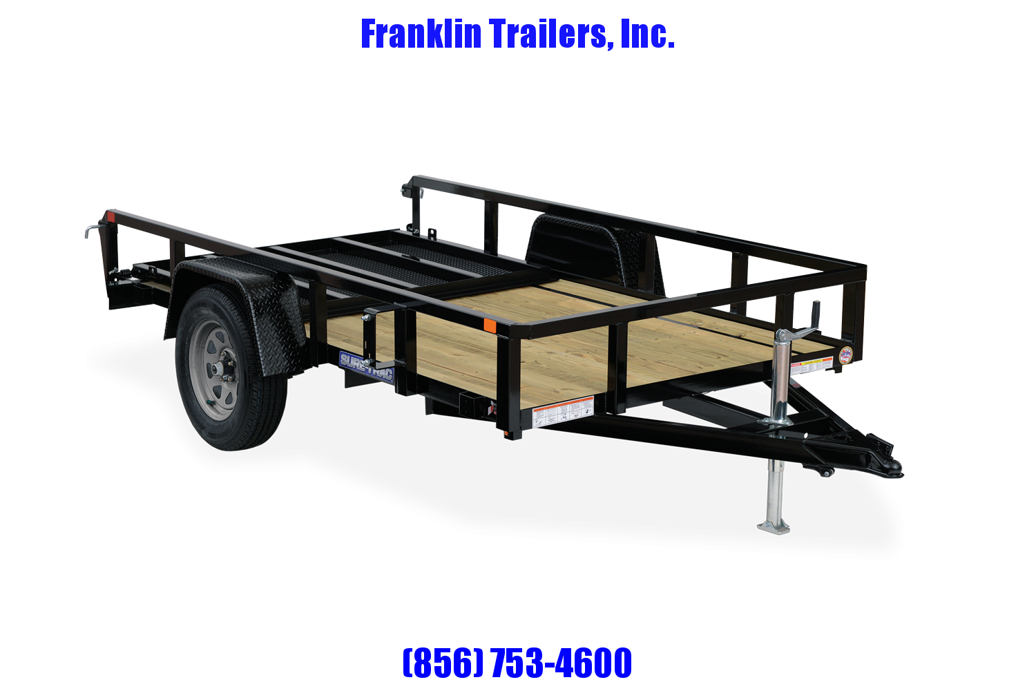2021 Sure-Trac 7 x 12 Tube Top Utility Trailer  3K Idle 2022625