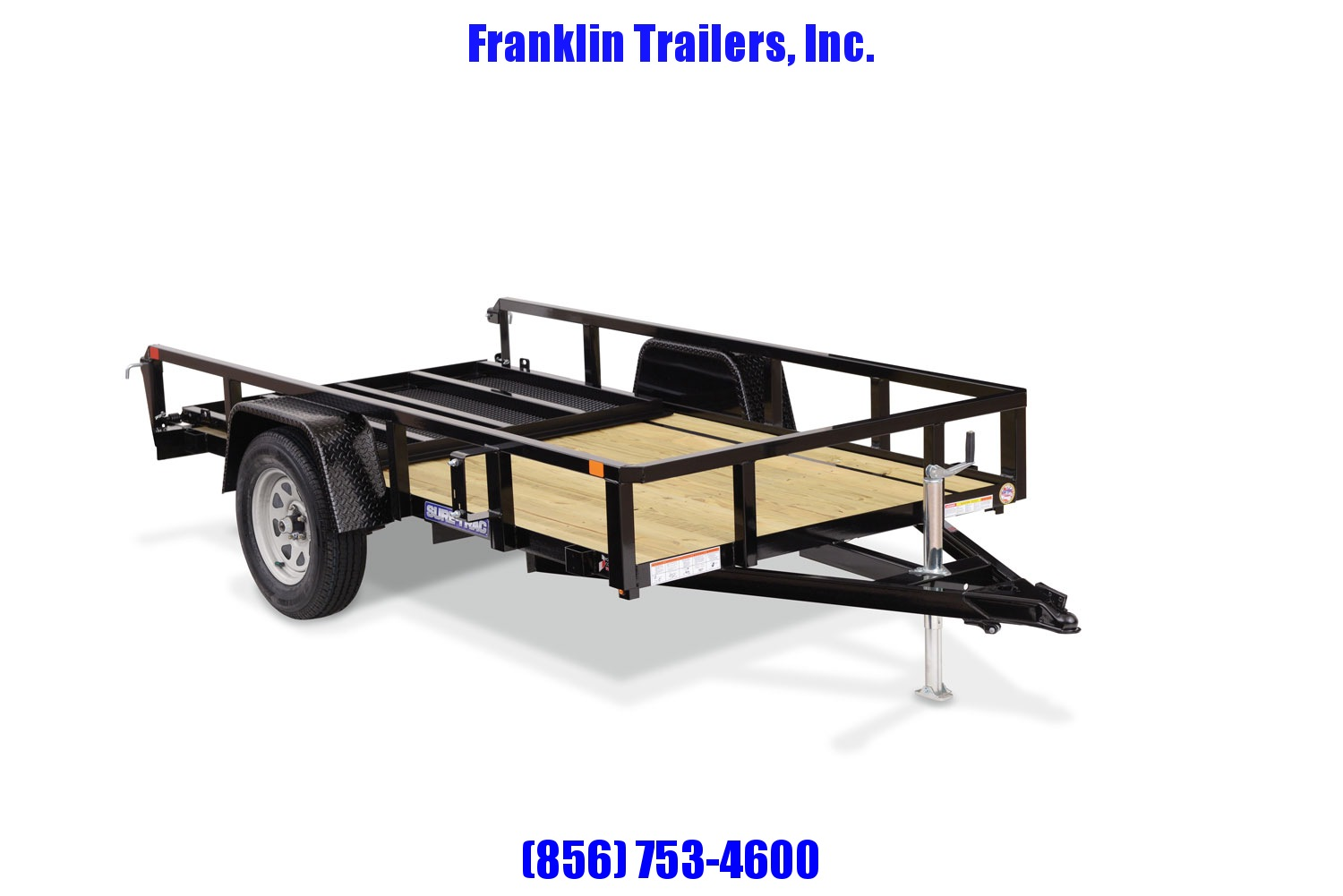 2021 Sure-Trac 5 x 8 Tube Top Utility Trailer  3K Idler 2022620