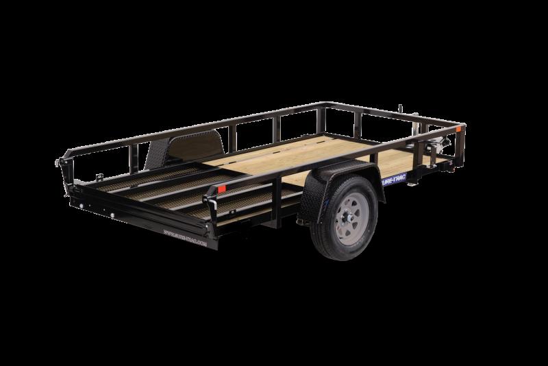 2021 Sure-Trac 5 x 8 Tube Top Utility Trailer 2023231