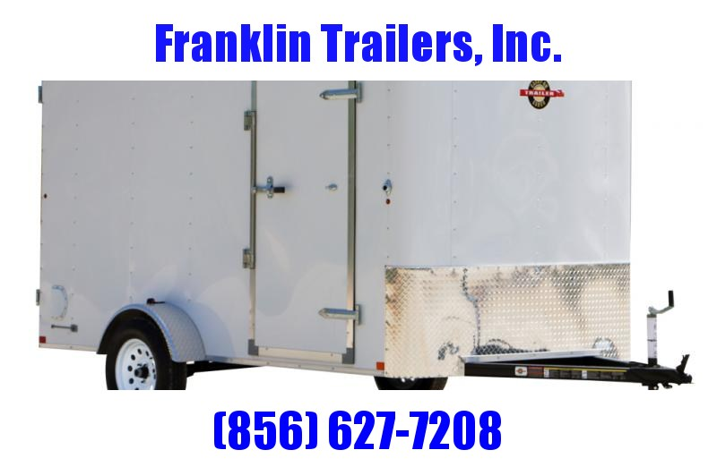 USED 2017 Carry-On 6X10 Enclosed Cargo Trailer 2022496