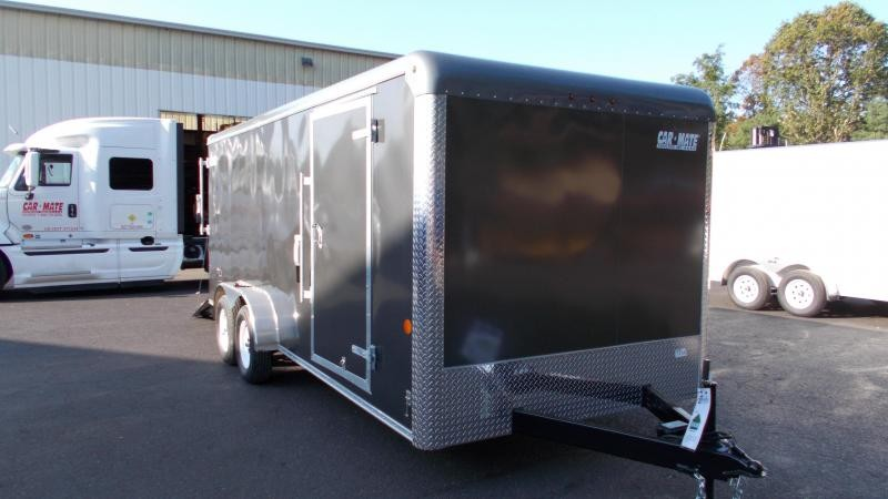 2021 Car Mate Trailers 7 X 18 Tandem Axle Custom Enclosed Cargo Trailer 2022914