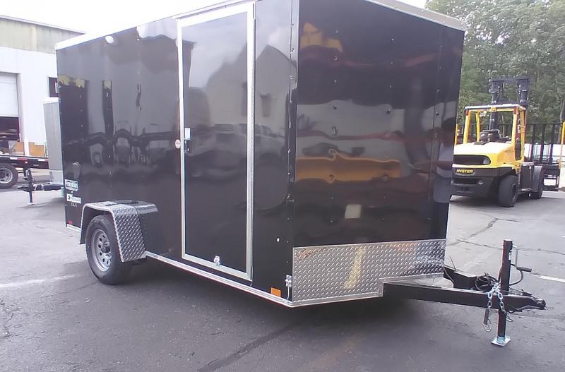 """2022 Cargo Express 7x12 V-Nose Cargo / Enclosed Trailer with 6"""" Addt'l Height 2024768"""