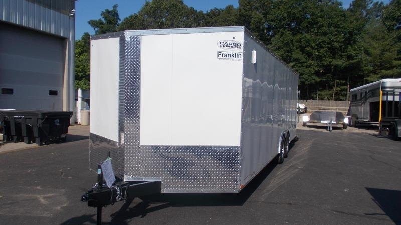 2021 Cargo Express 8.5x24 V-Nose Enclosed Car Trailer 2022543