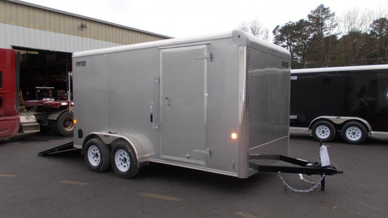 "2021 Car Mate 7x14 Enclosed Cargo Trailer with 6"" Addt'l Height 2023313"