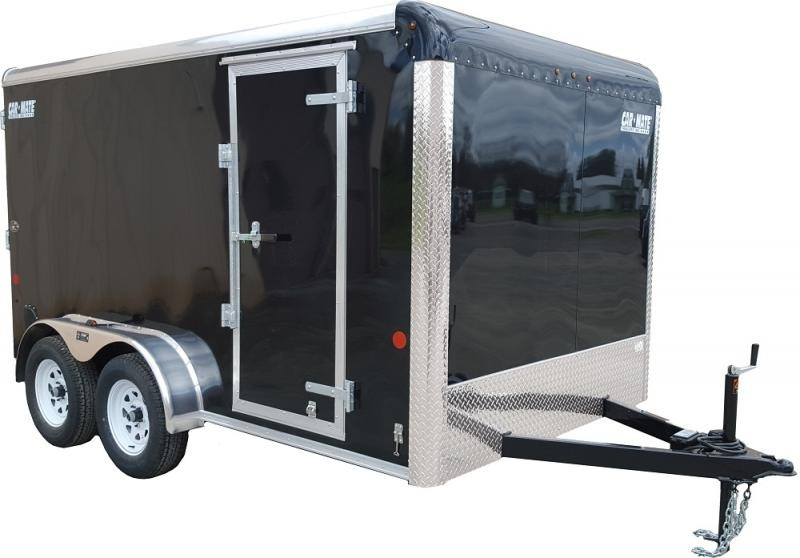 """2021 Car Mate 7x16 Enclosed Cargo Trailer with 6"""" Addt'l Height 2024758"""